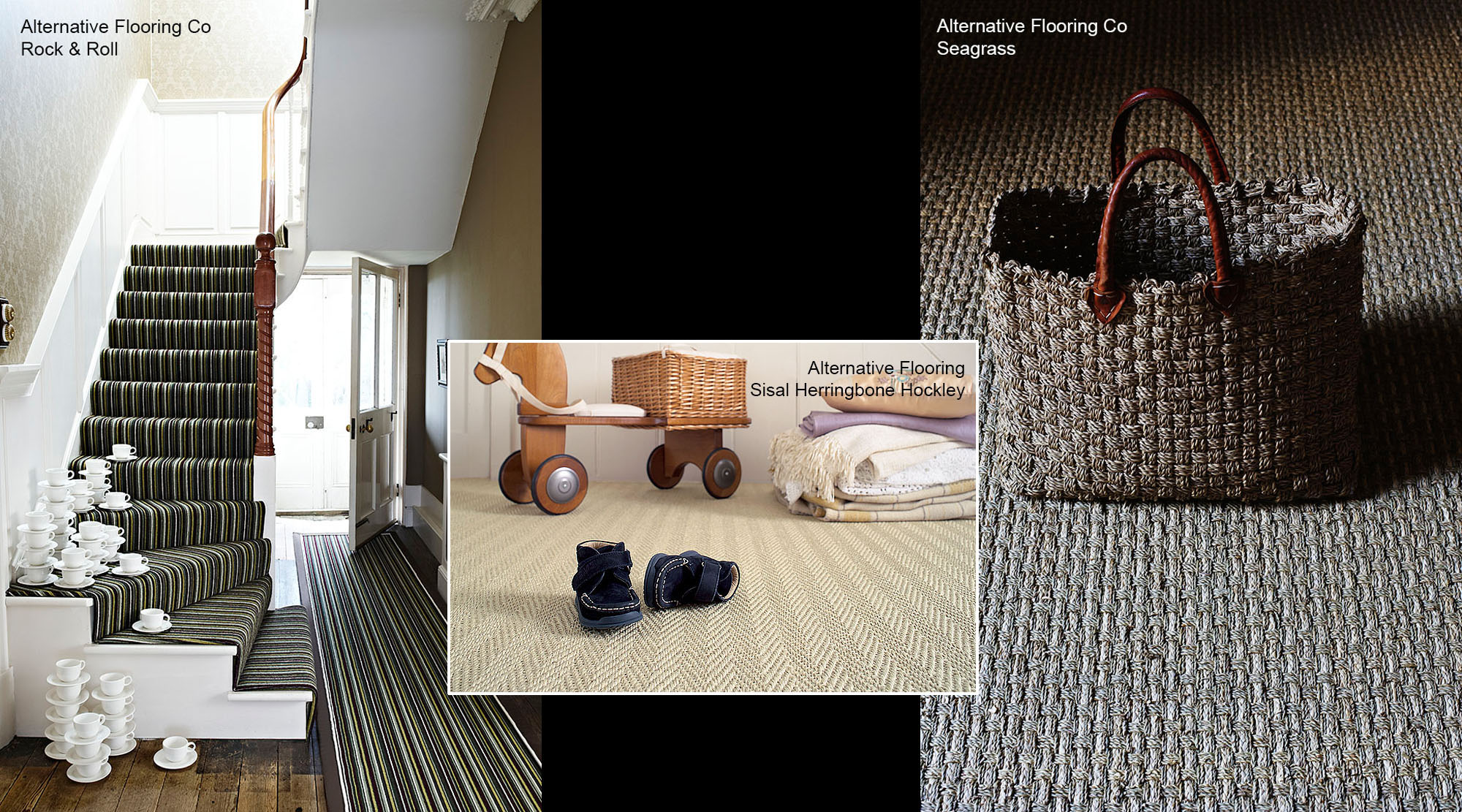 Alternative Flooring sisal and seagrass